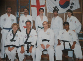 Master Alden and class early 1990s.