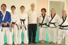GM Adams and new black belts